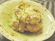 Ψ里芋と梅のともあえ・ごまだれ風味Ψの写真