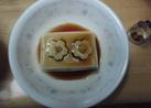カンタン!冷ややっこに☆かわいいお豆腐♪