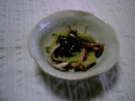 イカの紫蘇マヨネーズ和え