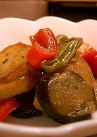 夏野菜のマリネ風サラダ