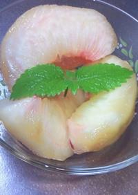 桃を変色させない方法♫♬