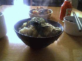 かきご飯(和風)