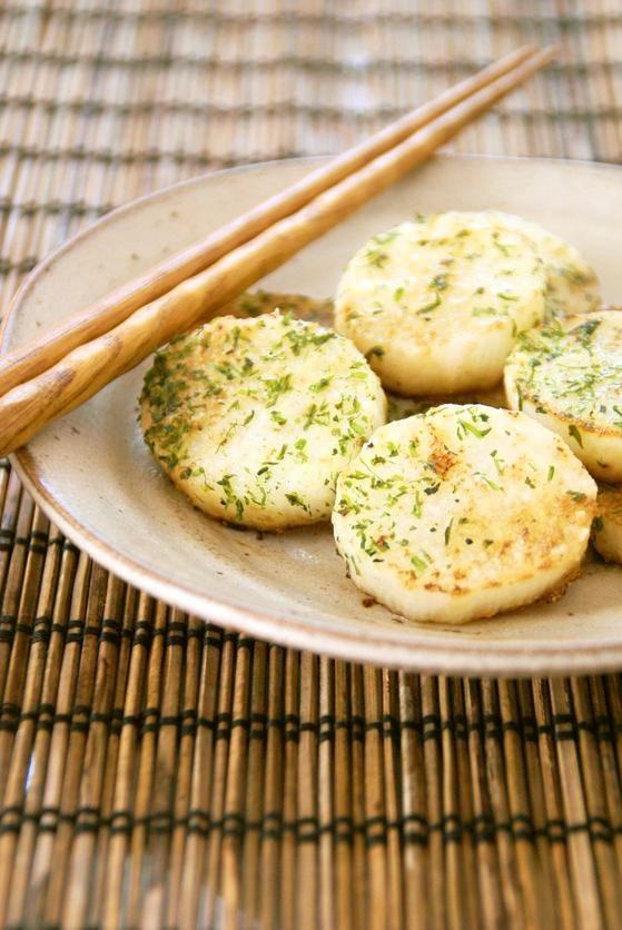 長いもと粉チーズで簡単おつまみ