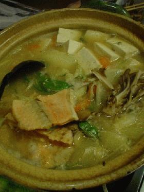 北海道の鍋と言えば・・・・「石狩鍋」