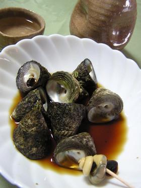 ニナ貝(しったか、バテイラ、つぶ貝)煮付