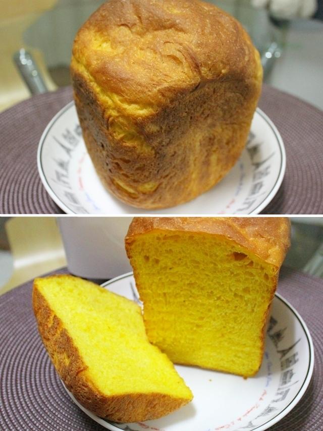 ♪HB♪ かぼちゃ食パン~離乳食にも~