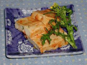 ピリ辛みそ豆腐