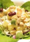 お豆と野菜のコロコロサラダ