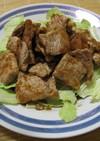 豚モモ肉のカリカリ焼き にんにく醤油漬け