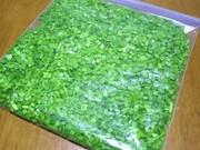 楽々楽チン✰すぐ使える✰彡ニラの冷凍保存の写真