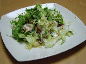 低カロリー♪タコの粒マスタードサラダ