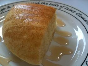 炊飯器で簡単★メープルチーズ★パンケーキ