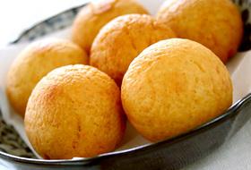 大豆粉のドーナツボール