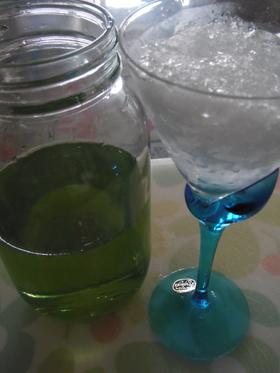 手作りかき氷シロップ(メロン編)