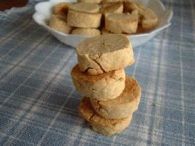 わんこ用ピーナッツバタークッキー