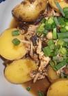 おかか昆布の佃煮パックで簡単ジャガ玉丼