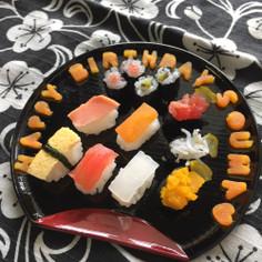 1歳Birthday★離乳食仕様寿司