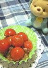 簡単お弁当★ミニトマトのおかか醤油炒め