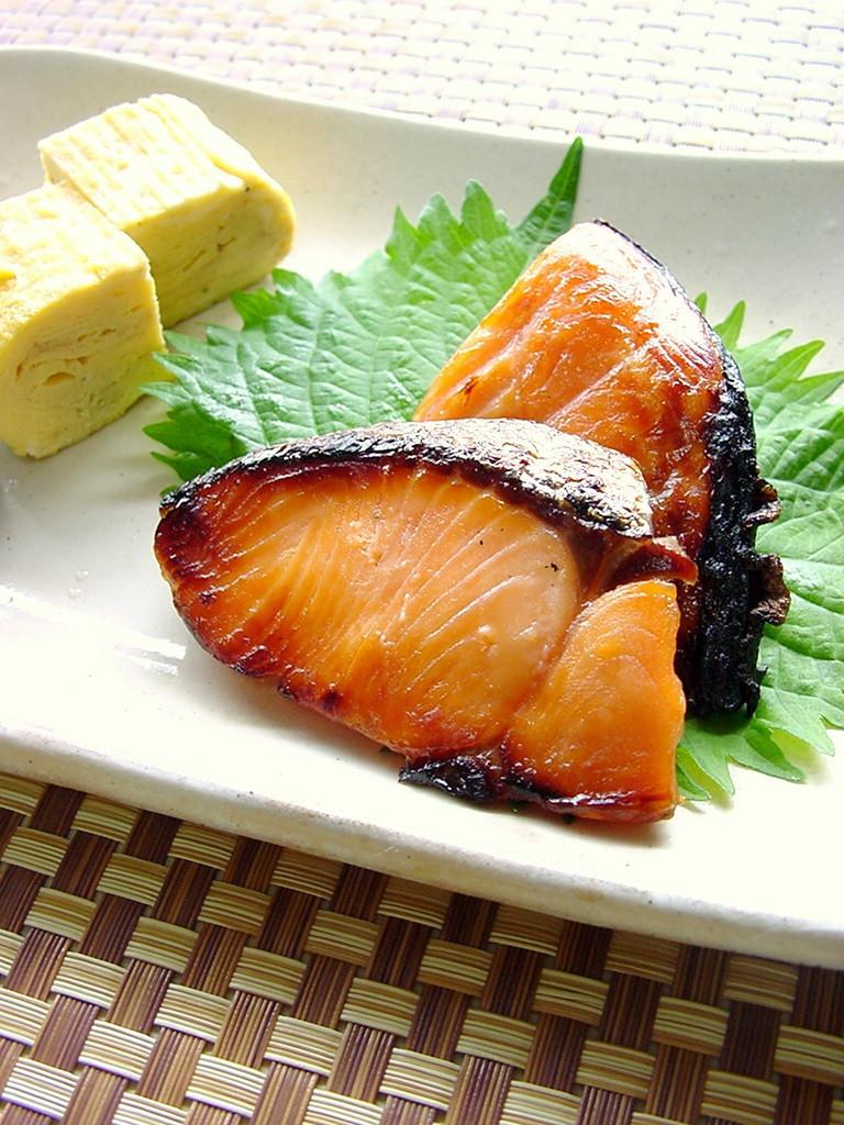 塩鮭のみりん漬け。
