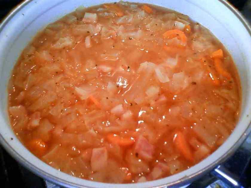 野菜ジュースで簡単スープ