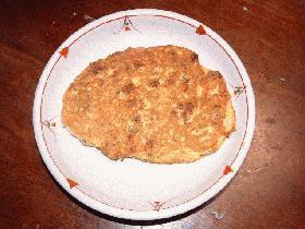 お焼き風納豆(魚バージョン)