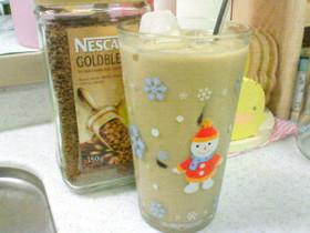 無糖コーヒー牛乳ズボラ放置アイスカフェオレ♪
