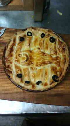 ニシンとかぼちゃのパイ【ジブリ飯】