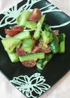 アボカドとキュウリのサラダ