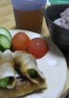 ★簡単★おいしい★餃子の皮でオクラまき