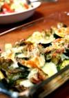 バジルの香り チキンと野菜のチーズ焼き