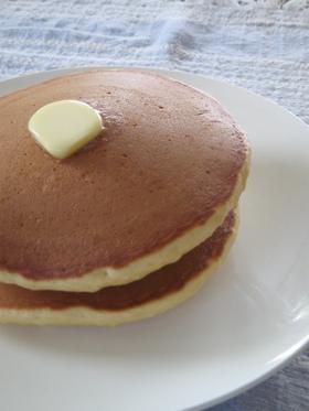 厚さ2.5cmのホットケーキ(パンケーキ