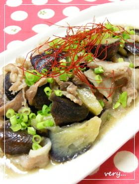 クック膳★なすと豚肉の味噌炒め風
