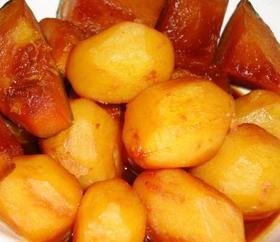 ジャガイモの煮っころがし