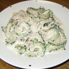 ゴーヤのツナマヨ夏サラダ♪♪