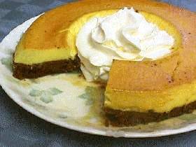 プリンココアケーキ
