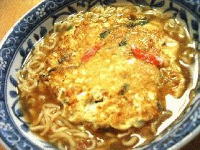 天津麺(かに玉ラーメン)