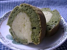 お豆腐と抹茶のケーキ