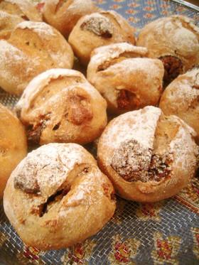 ライ麦粉入り・いちじくとクルミのパン