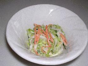 手作りマヨdeコールスローサラダ