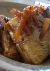 圧力鍋で♪さんまの生姜煮