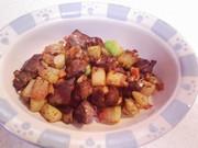 犬ご飯(レバーポテト)の写真