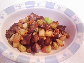 犬ご飯(レバーポテト)