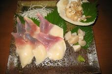 海鮮!北寄貝の刺身