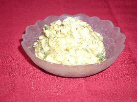 ゴマ風味のさつまいもとカボチャのサラダ