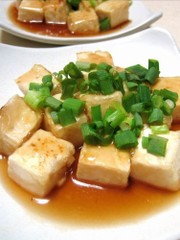 簡単すぎ?フライパン一つの揚げ出し豆腐の写真