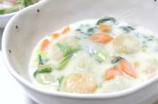海老と白菜のクリームシチュー