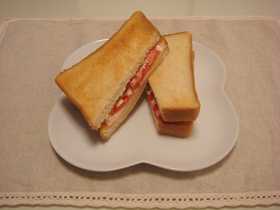 クロックムッシュ風サンドイッチ