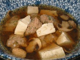 鳥団子スープ☆