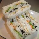 運動会にピッタリ☆わくわく寿司サンド