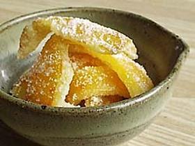 ♪フカフカで作る伊予柑の皮の砂糖煮♪